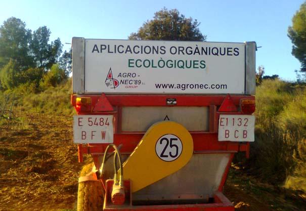 Serveis - Aplicacions orgàniques ecològiques - agronec